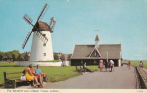 Windmill, Lifeboat House, LYTHAM, Lancashire, England, 40-60's