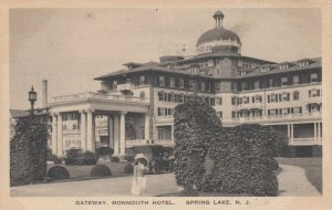 SPRING LAKE , New Jersey , 1922 ; Gateway , Monmouth Hotel