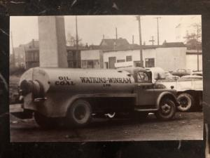 Mint Vancouver Bc Canada RPPC Postcard Oil Tanker Watkins Winram