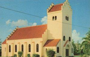 Postcard Danish Lutheran Church In Solvano California