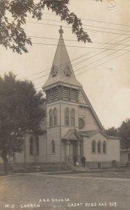 RP: GREAT BEND , Kansas , 1907 ; M.E. Church