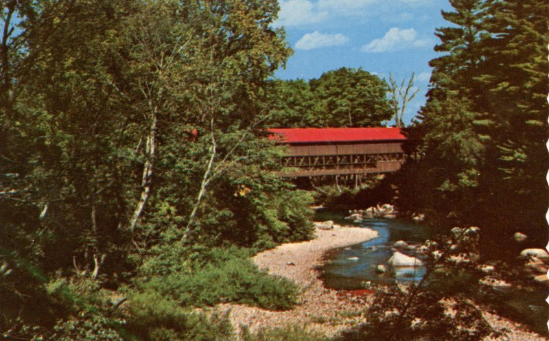 NH - Conway. Swift River Covered Bridge
