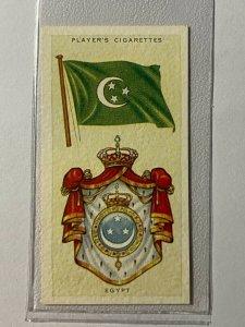 CIGARETTE CARD - PLAYERS NATIONAL FLAGS #14 EGYPT     (UU167)
