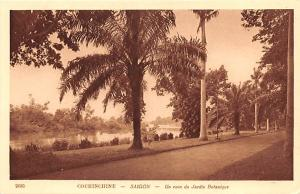 Cochinchine Vietnam, Viet Nam Saigon, Un coin du Jardin Botanique Cochinchine...