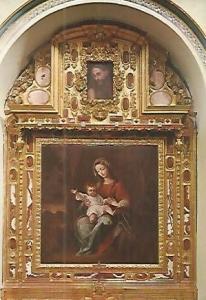 POSTAL 53247: GRANADA. Virgen del Rosario de La Cartuja
