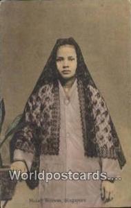 Singapore, Singapura Malay Woman Malay Woman