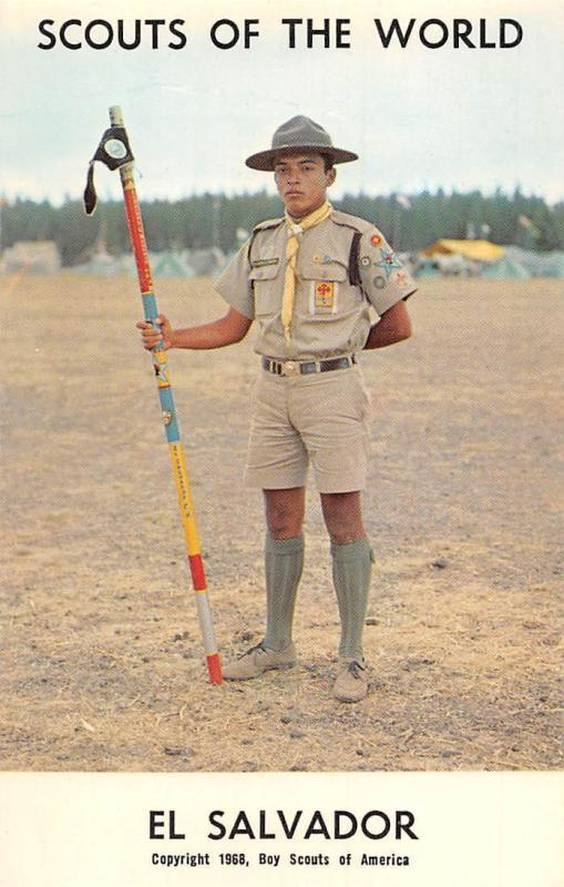 Scouts of the World: El Salvador (1968 Boys Scouts of
