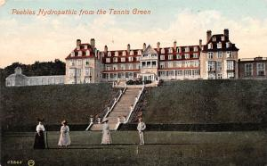 Scotland, UK Old Vintage Antique Post Card Peebles Hydropathic from the Tenni...