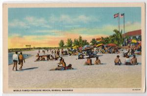 Paradise Beach, Nassau, Bahamas