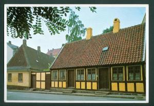 Denmark. Postcard. H.C. Andersen Childhood's Home