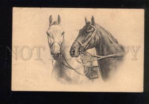 047320 Heads of HORSES by REICHERT vintage