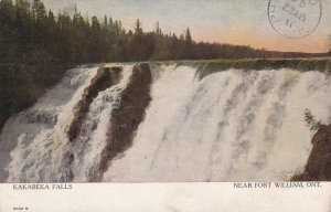 FORT WILLIAM, Ontario, Canada, PU-1907; Kakabeka Falls
