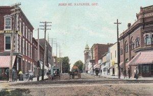NAPANEE , Ontario , Canada , 1908 ; John Street ; Copy-2