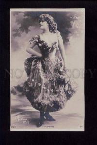 074442 E. DE MENDES Famous DANCER vintage PHOTO REUTLINGER