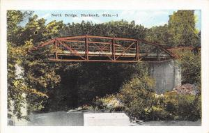 Blackwell Oklahoma~South Automotive Bridge 1920s Postcard