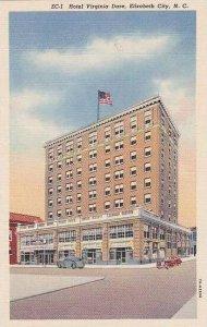 North Carolina Elizabeth City Hotel Virvinia Dare Curteich