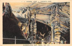 Lover's Leap, Cudjo's Cave Cumberlnd Gap, Tennessee, USA Unused