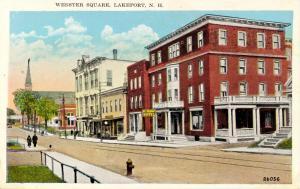 NH - Lakeport. Webster Square