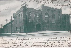 New Jersey Newark First Regiment Armory 1908