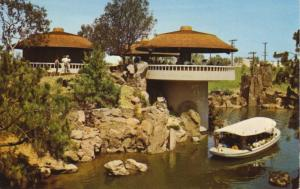 Busch Bavarian Pavilion, Los Angeles California, CA.  Postcard