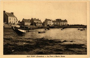 CPA Ile TUDY - Le Port a Marée Basse (252662)