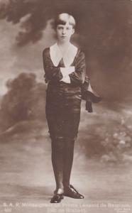 RP, S.A.R. Monseigneur Le Prince Leopold De Belgique, Duc De Brabant, 1910-1920s