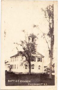 RPPC, Baptist Church. Chepachet RI
