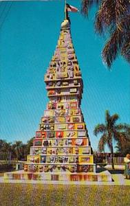 Florida Kissimmee World's Most Unique Monument 1971
