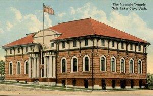 UT - Salt Lake City. The Masonic Temple