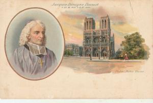 FRENCH BISHOP AND THEOLOGIAN JACQUES BENIGNE BOSSUET PARIS NOTRE DAME