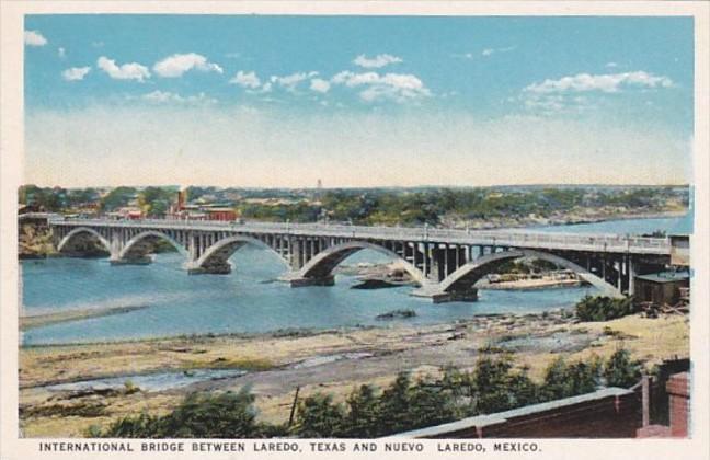 Texas International Bridge Between Laredo and Nuevo Laredo
