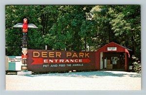 Bridgeton IN- Indiana, Scenic Parke County, Covered Bridge, Chrome Postcard