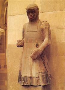 Magdeburg Dom Figur des hl. Mauritius Statue Cathedral