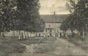 finland suomi, KUORTANE, Kirkonkylän Kansakoulu, School (1910s)