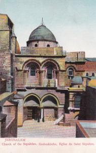 Church Of The Sepulchre,Grabeskirche, Eglise Du Saint Sepulcre, Jerusalem, 00-10