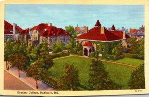 Maryland Baltimore Goucher College Curteich