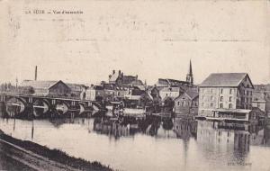 River Bridge, Vue d'Ensemble, La Suze (Sarthe), France, 1900-1910s