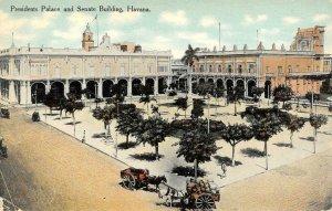 Presidents Palace & Senate Building HAVANA Cuba c1910s Vintage Postcard