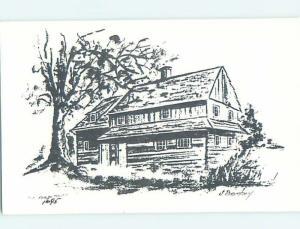 Pre-1980 BUILDING SCENE Kulpsville - Near Doylestown & Philadelphia PA H5780