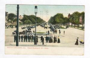 Grand Boulevard, 35th Street, South Chicago, Illinois, PU-1908