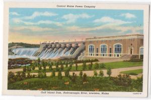 Gulf Island Dam, Lewiston ME
