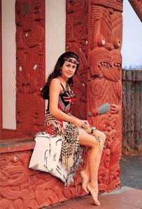 Maori Girl - New Zealand