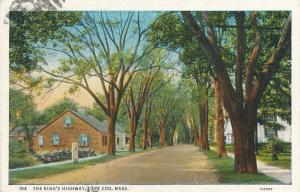 The King's Highway Route 6 at Yarmouthport Cape Cod Massachusetts - pm 1937 - WB