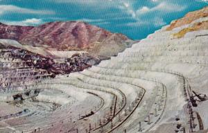Utah Salt Lake City Bingham Copper Mine 1959