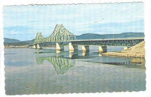 Interprovincial Bridge from S.W., The Campbellton, New Brunswick - Cross Poin...