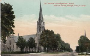 GUELPH , Ontario , Canada ,1913 ; St Andrew's Presbyterian Church