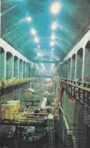 Construction, Underground Power House, B.C.Hydro & Power Authority, Canada,50-60