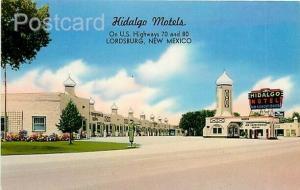 NM, Lordsburg, New Mexico, Hidalgo Motel, Tichnor No. G88404