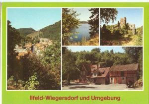 Germany, Ilfeld-Wiegersdorf und Umgebung, unused Postcard