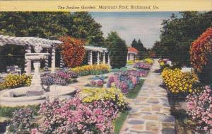 The Italian Garden Maymont Park Richmond Virginia 1953